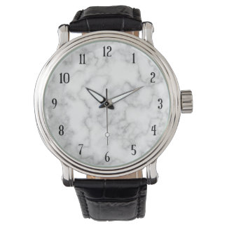 Marble Pattern Gray White Marbled Stone Background Watch