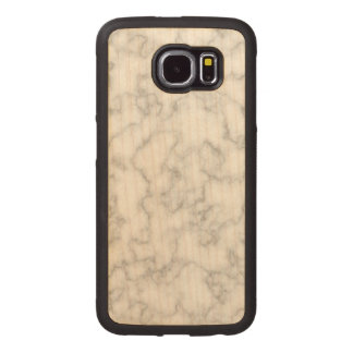 Marble Pattern Gray White Marbled Stone Background Wood Phone Case