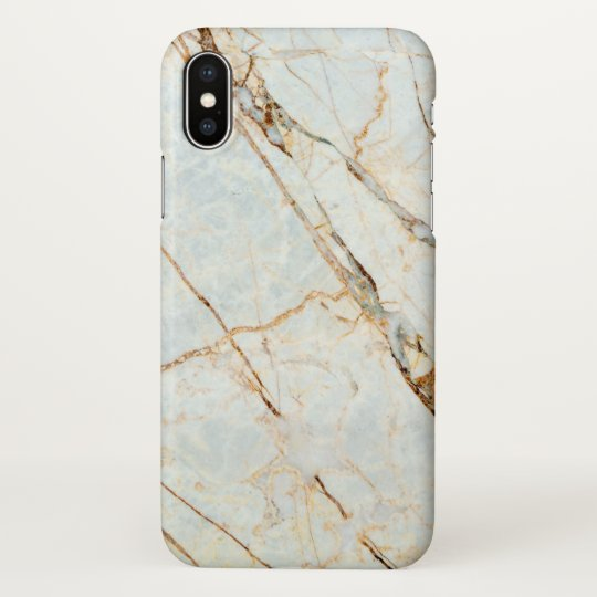 Marble Pattern Stone Grey iPhone X Case