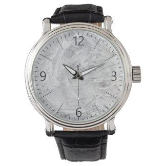 Marble pattern watch
