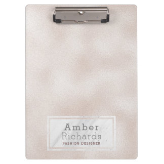 Marble & Pearl Clipboard