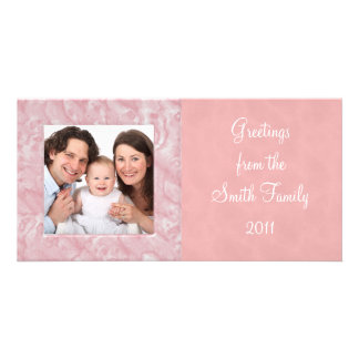 Marble Photo Card Template