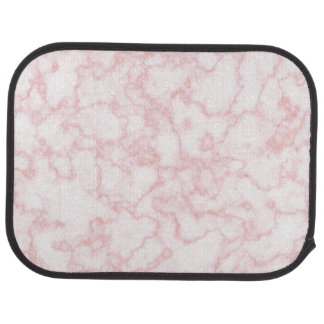 marble pink car mat