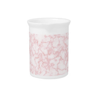 marble pink drink pitchers