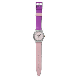 marble pink watch