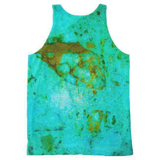 Marble print vest
