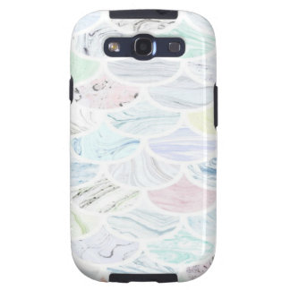Marble Scallop Samsung Galaxy SIII Cases