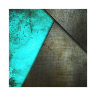 Marble & Steel Canvas Print