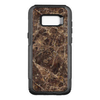Marble Stone In Brown Color OtterBox Commuter Samsung Galaxy S8+ Case