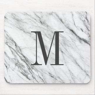 Marble Stone Monogrammed MousePad