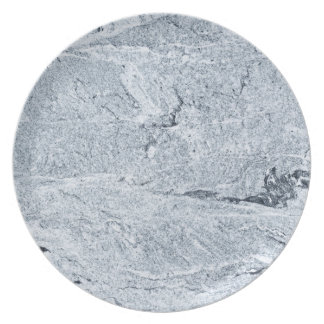 Marble Stone Pattern Melamine Plate