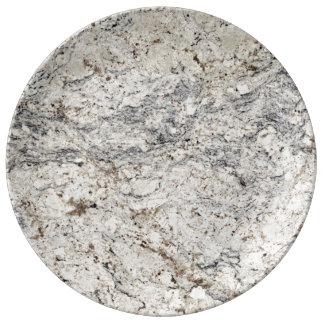 Marble Stone Pattern Porcelain Plate