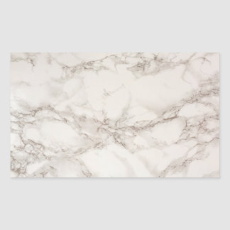 Marble Stone Rectangle Sticker