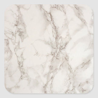 Marble Stone Square Sticker