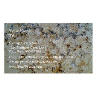 Marble Surface Texture Business Card Template