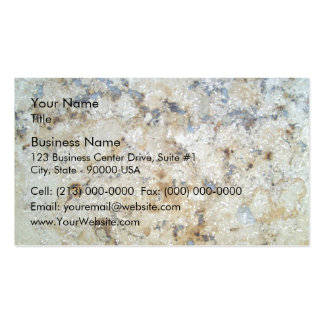 Marble Surface Texture Pack Of Standard Business Cards