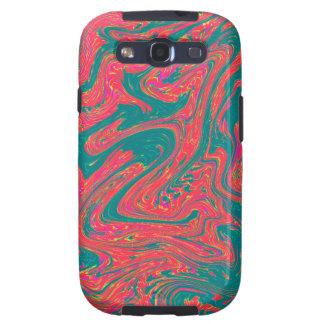 Marble Swirl Galaxy SIII Cases