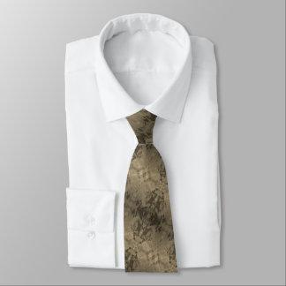 Marble Tan Tie
