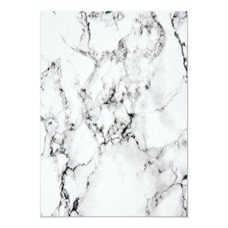 Marble texture 13 cm x 18 cm invitation card