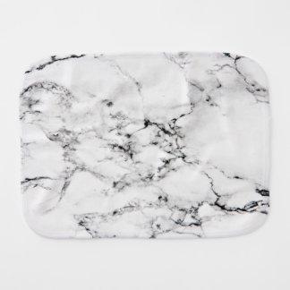 Marble texture burp cloth
