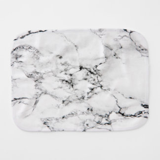 Marble texture burp cloths