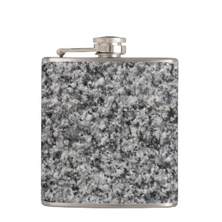 Marble texture hip flask