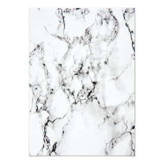 Marble texture 13 cm x 18 cm invitation card