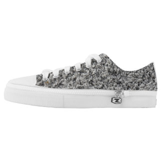 Marble texture low tops
