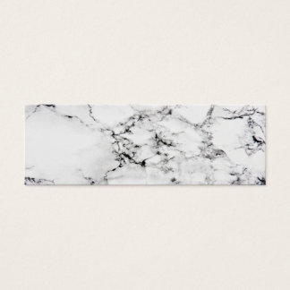Marble texture mini business card