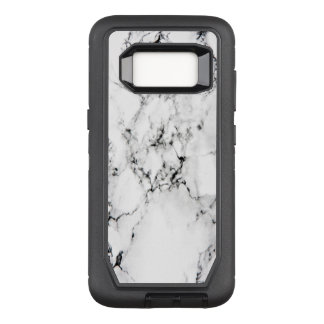 Marble texture OtterBox defender samsung galaxy s8 case