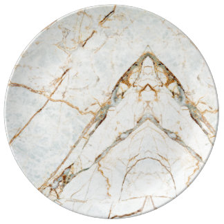 Marble Texture Pattern Stone Plate