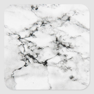 Marble texture square sticker