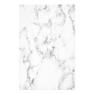 Marble texture customized stationery