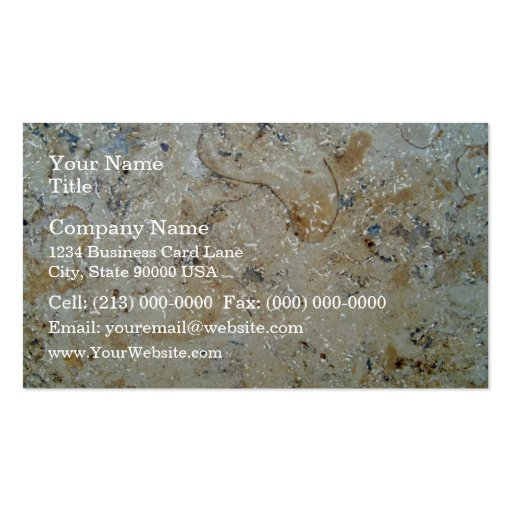 Marble Texture Surface Business Card