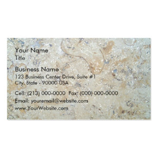 Marble Texture Surface Pack Of Standard Business Cards