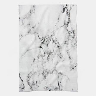 Marble texture tea towel
