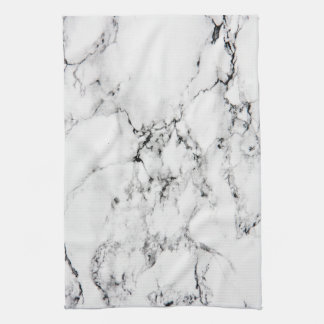 Marble texture towel