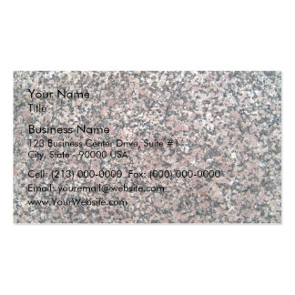 Marble Texture with pink spots Pack Of Standard Business Cards
