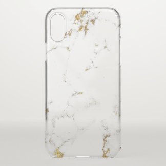Marble White Abstract Italian Minimalism Lux iPhone X Case