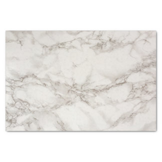 Marble white and grey tissue paper