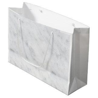 marble white birthday holiday favor bag gift bag