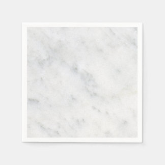 marble white stone modern cocktail napkin disposable serviette