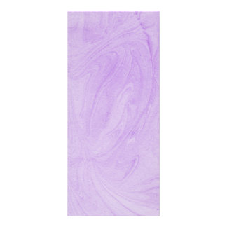 Marbled Abstract Design | Purple Full Color Rack Card