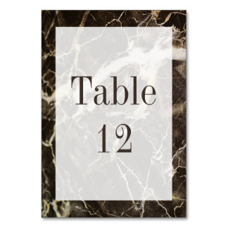 Marbled-Abstract Expressionism by Shirley Taylor Table Cards