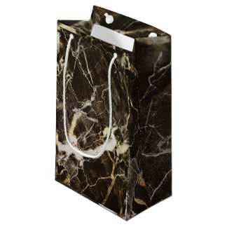 Marbled-Abstract Expressionism Small Gift Bag