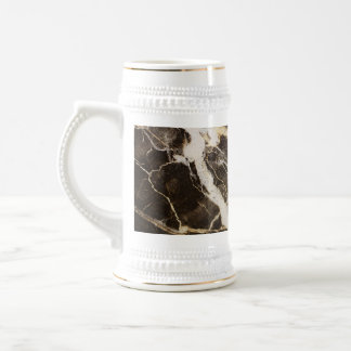 Marbled-Abstract Expressionism Beer Steins