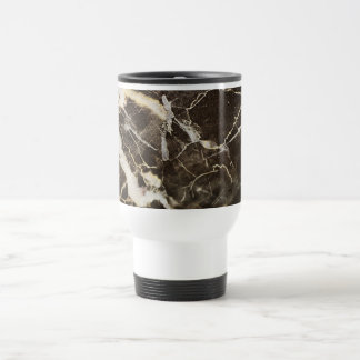 Marbled-Abstract Expressionism Stainless Steel Travel Mug