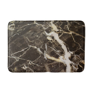 Marbled-Abstract Expressionism Bath Mats