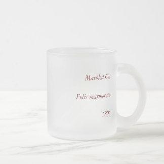 Marbled Cat, Felis marmorata Coffee Mug