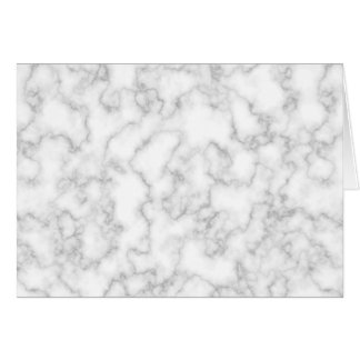 Marbled Gray White Marble Stone Pattern Background Card